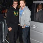 Chris Hemsworth arrives at the Puma Yard - Jamaica Independence day held at the Boiler house in Brick Lane, London 124299