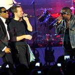 Jay-Z with Kanye West and Chris Martin in Las Vegas for Cosmopolitan open  76010
