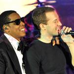 Jay-Z with Kanye West and Chris Martin in Las Vegas for Cosmopolitan open  76011
