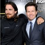 Christian Bale and Mark Wahlberg at The Fighter premiere in LA 74437