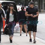 Kellan Lutz hangs out with Christian Serratos 46520