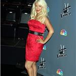 Christina Aguilera at The Voice press conference  81487