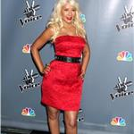 Christina Aguilera at The Voice press conference  81489