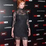 Christina Hendricks at Mad Men Season 4 premiere  65647