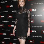 Christina Hendricks at Mad Men Season 4 premiere  65649