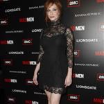 Christina Hendricks at Mad Men Season 4 premiere  65650