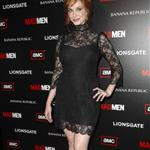 Christina Hendricks at Mad Men Season 4 premiere  65652