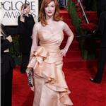 Christina Hendricks Golden Globes Breasts 2010 53497