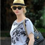 January Jones goes for a walk in Manhattan  86255
