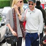 Claudia Schiffer and Matthew Vaughn make a show of togetherness at the school run 87989