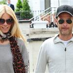 Claudia Schiffer and Matthew Vaughn make a show of togetherness at the school run 87992