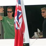George Clooney on vacation in Mediterranean with Cindy Crawford and Rande Gerber 23309