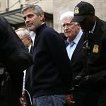 George Clooney arrested for protesting outside Sudanese Embassy  109057