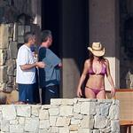 George Clooney and Elisabetta Canalis holiday in Mexico with Cindy Crawford and Rande Gerber 51314