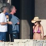 George Clooney and Elisabetta Canalis holiday in Mexico with Cindy Crawford and Rande Gerber 51315