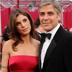 George Clooney and Elisabetta Canalis at the 2010 Oscars 56435
