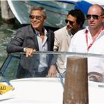 George Clooney arrives to the Venice Film Festival like a boss for Ides of March  93059