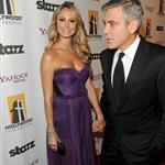 George Clooney brings Stacy Keibler to Hollywood Film Awards  97054