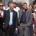 George Clooney and Bill Murray visit earthquake region L'Aquila, Italy during G8 Summit 42707