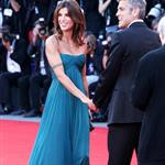 George Clooney and Elisabetta Canalis at the Venice Film Festival 47832