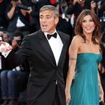 George Clooney and Elisabetta Canalis at the Venice Film Festival 47833