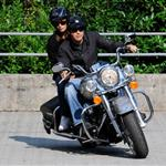 George Clooney's double motorcycle date with Elisabetta Canalis, Rande Gerber and Cindy Crawford 43860