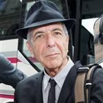 Leonard Cohen arrives in Berlin 42316