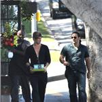 Colin Farrell shops with a friend 61822