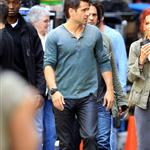 Colin Farrell on set of Total Recall in Toronto  87497
