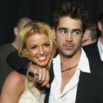 Colin Farrell Britney Spears at The Recruit premiere January 2003  71116