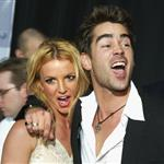 Colin Farrell Britney Spears at The Recruit premiere January 2003  71117