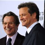 Gary Oldman and Colin Firth arrive at the premiere of Tinker, Tailor, Soldier, Spy 100109