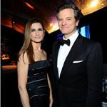 Colin Firth and wife Livia at the 2012 Golden Globe Awards 102929