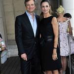 Colin Firth and Livia Firth attend a photocall for the Green Cut at Somerset House in London 126861
