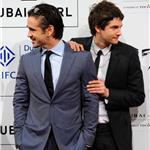 Jim Sturgess Colin Farrell at Dubai Film Festival to promote The Way Back 75125