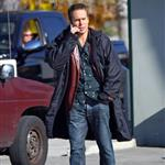 Sam Rockwell on set of Seven Psychopaths 101208