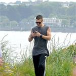 Colin Farrell goes for a walk in Ireland with his sister  119923
