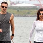 Colin Farrell goes for a walk in Ireland with his sister  119928