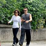 Colin Farrell goes for a walk in Ireland with his sister  119931