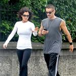 Colin Farrell goes for a walk in Ireland with his sister  119933