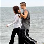 Colin Farrell goes for a walk in Ireland with his sister  119943