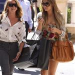 Lauren Conrad and Lauren Bosworth shopping at Barneys 43699