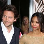 Zoe Saldana and Bradley Cooper at the LA premiere of The Words  125089