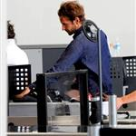 Bradley Cooper yesterday at LAX returning to Vancouver 48549