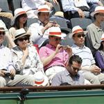 Bradley Cooper at the French Open 2012  115784
