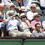 Bradley Cooper at the French Open 2012  115786