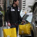 Cory Monteith and Wayne Gretzky hit up the HBC gift suite during Olympics 55294