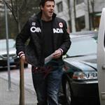 Cory Monteith and Wayne Gretzky hit up the HBC gift suite during Olympics 55296