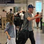 Cory Monteith arrives in Montreal  87406