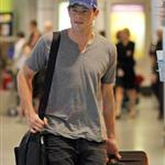 Cory Monteith arrives in Montreal  87409